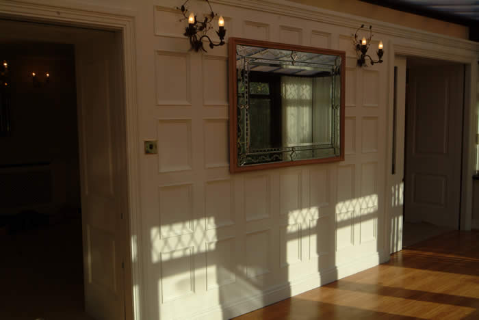 conservatory beaded wall panelling british made by wall panelling experts