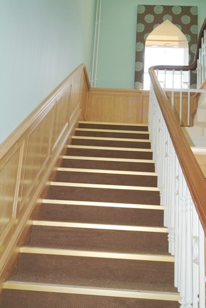 staircase wall panelling  ideas by wall paneling experts made in the uk rossendale hospice