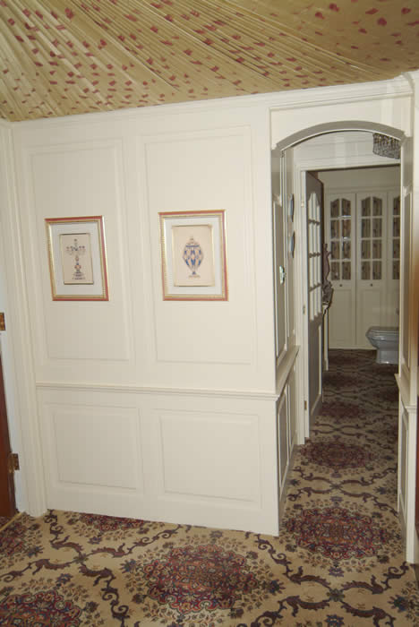 entrance hall wall panelling ramsbottom  lancashire Johnson  made in the uk by wall panelling experts