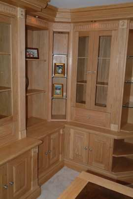 oak panelling for studies made in the uk by wall panelling experts