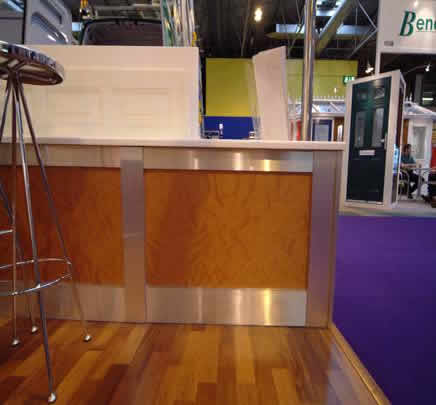 contemporary wall panelling nec birmingham exhibition show