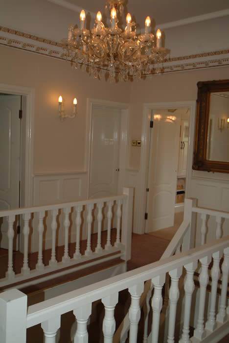 landing panelling by wall panelling experts