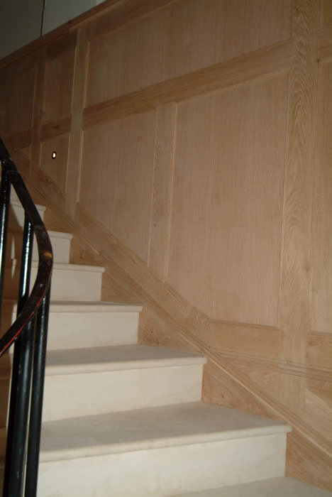 oak wall panelling by wall panelling staircase wall panelling experts made in the uk forest de bere hampshire