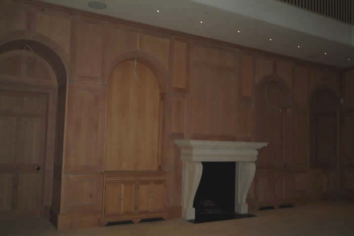 wood wall panelling by wall panelling oak wall panelling Forest DE Bere Hampshire made in the uk by wall panelling experts estate in hampshire