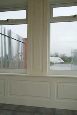 conservatory wall panelling lancashire made in great britain