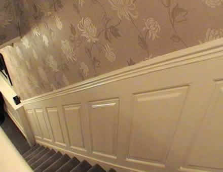 staircase wall panels, liverpool, made in the uk