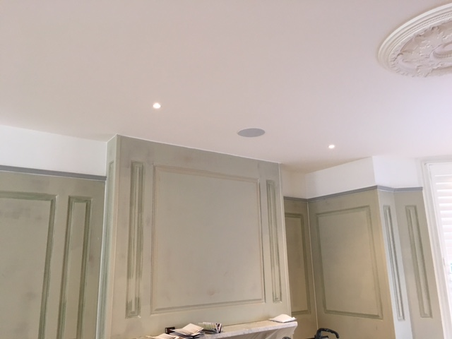 full height georgian panelling by wall panelling experts
