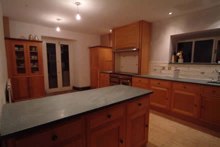 wood kitchens from wall panelling  lake district