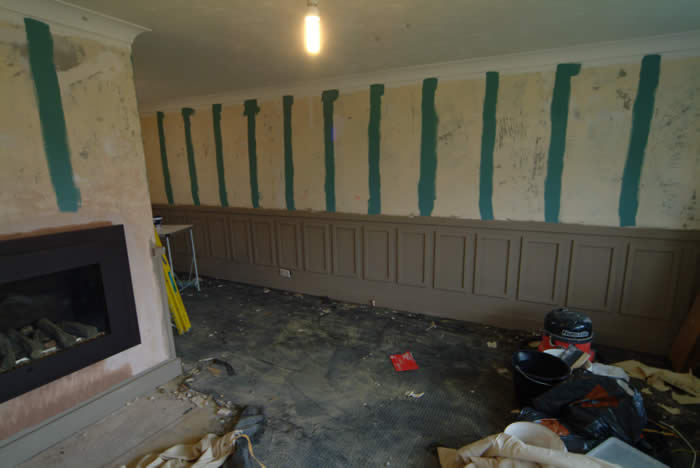 wall panelling  for homes for the brave by wall panelling