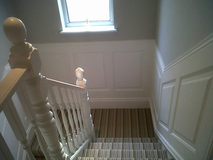 staircase wall panelling staircase wall panelling  ideas by wall paneling experts made in the uk