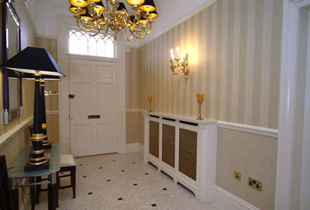 bespoke radiator covers from wall panelling experts