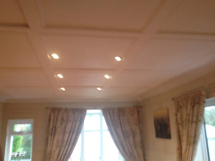 after ceiling wall panelling magic