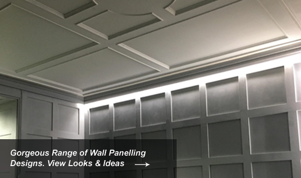 Living Room Wall Panelling Designs