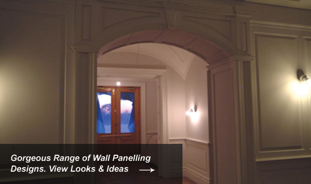 Archway Wall Panelling Designs