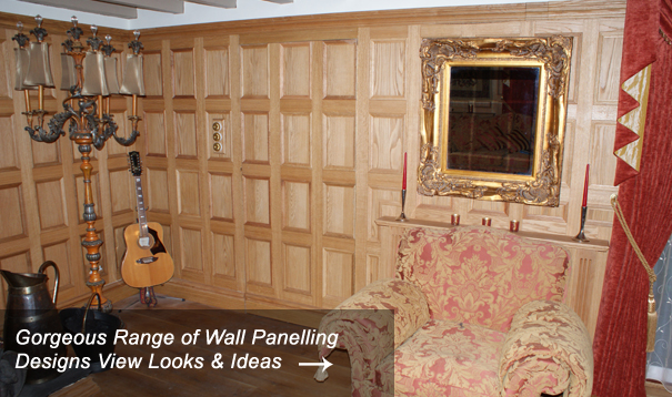 Wood Panelling Designs