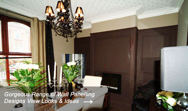 Dining Room Wall Panelling Designs