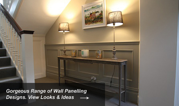 Entrance Wall Panelling Designs