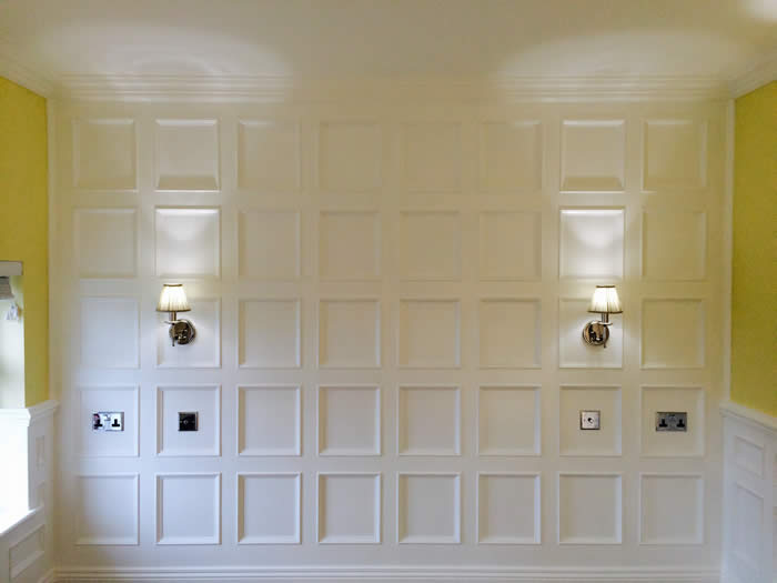 beaded wall panelling by the wall panelling experts
