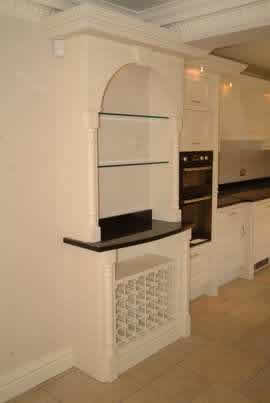 kitchen designs by wall panelling cheshire