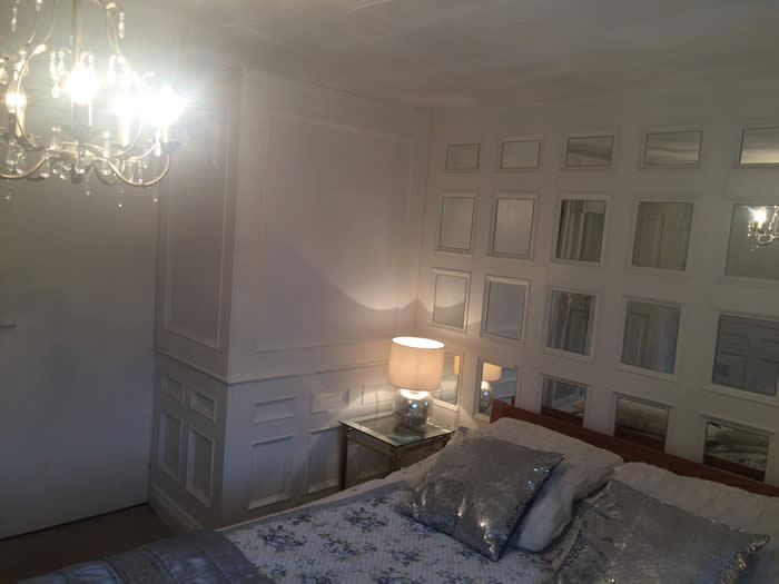 bedroom panelling