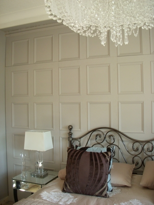 bedroom feature wall panels