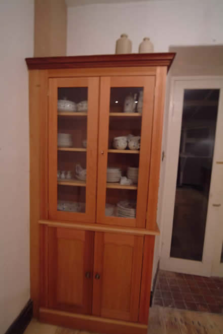 bespoke dressers by wall panelling  lake district