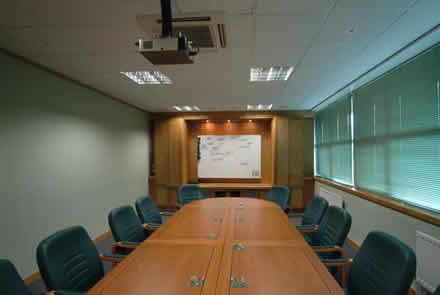 boardroom tv media made to emasure from wall panelling brooksons oak panelling and media surround by wall panelling experts