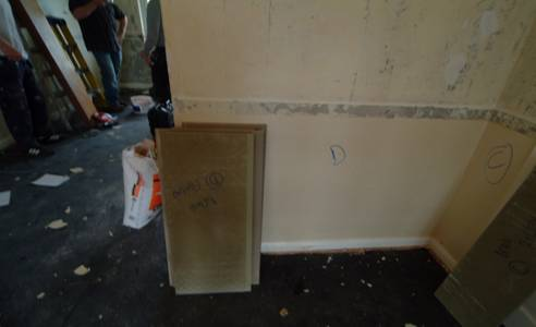wooden wall panelling installation from wall panelling experts