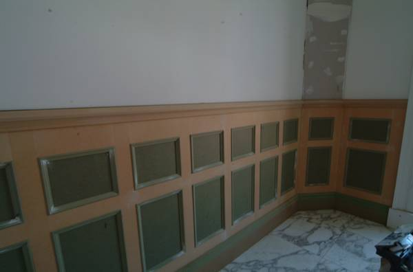picture showing Colin & Justins bathroom wall panelling installed and designed by experts wall panelling tld