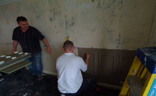 fitting wall panels by wall panelling ltd