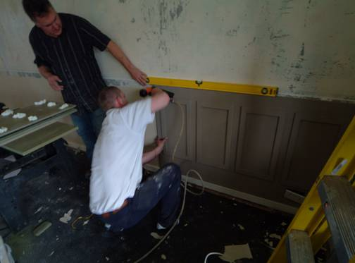 how to install wall panels by wall panelling fitting wall panelling by the wall panelling experts
