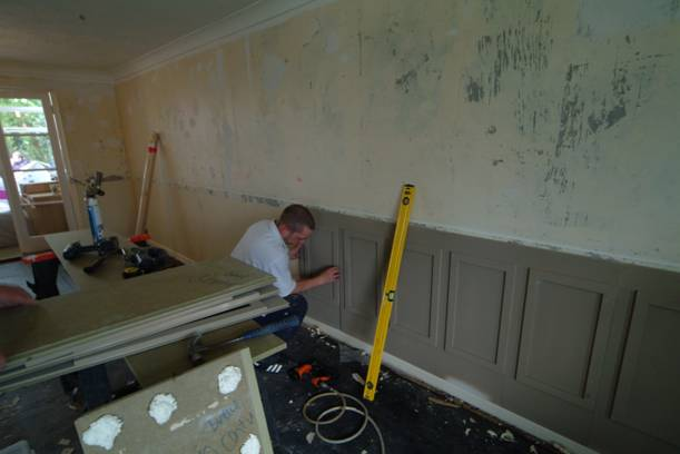 information on installing wall panels by wall panelling