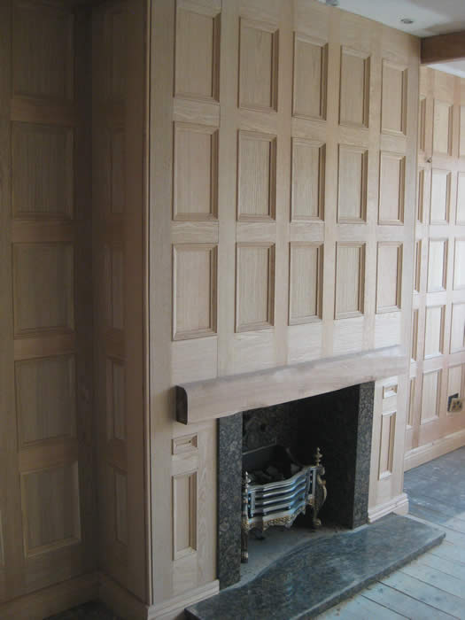 oak wall panelling by wall panelling experts