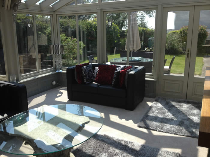 conservatory panelling