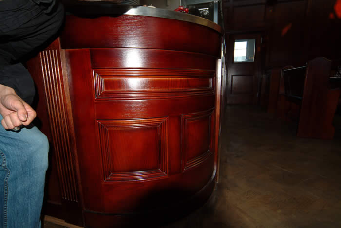 curved panelling