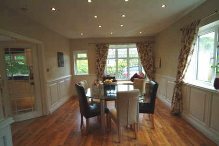 dining room wall panelling by wall panelling south wales