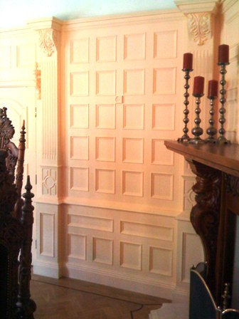 dining room beaded wall panelling cheshire
