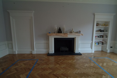 dinign and living room wall panelling by wall panelling  experts for  colin and justin glasgow