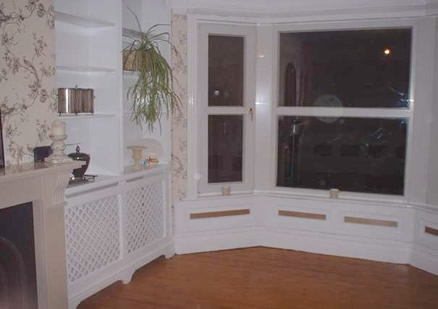 living room wall panelling  fit by owner made by wall panelling experts