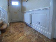 stiarcase wall panelling glasgow made by wall panelling experts