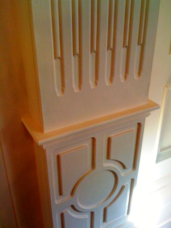 pillars and mouldings by the wall panelling experts cheshire