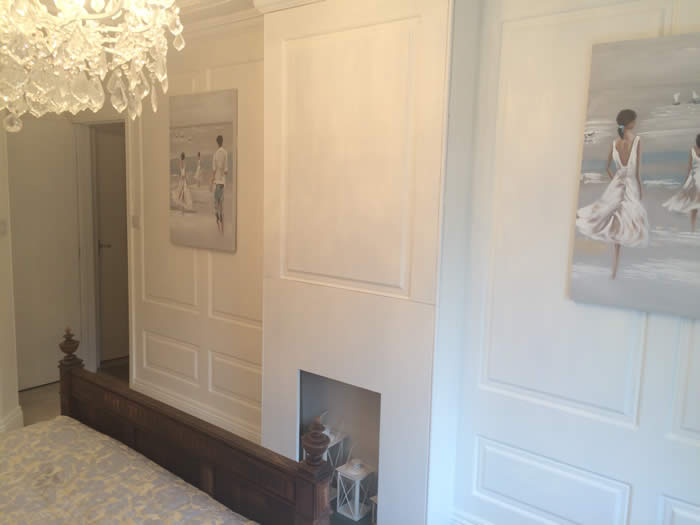 full height georgian wall panelling
