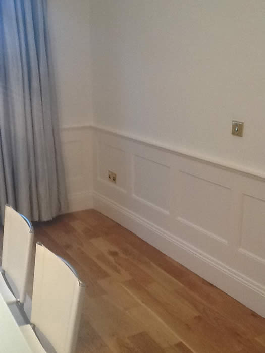 dining room wall panelling chester
