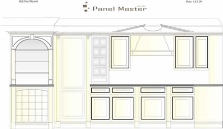 hand made kitchen ideas from wall panelling tld
