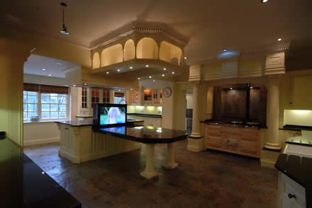bespoke kitchens by wall panelling experts