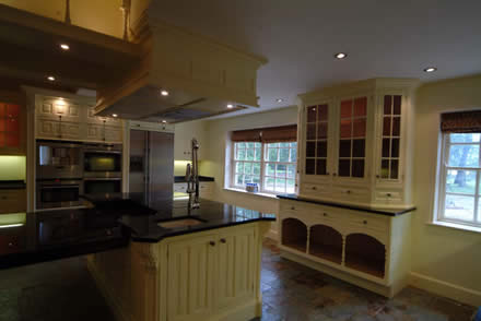hand maded kitchens by wall panelling tld
