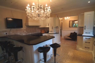bespoke kitchen at  acorn cottage tenby south wales holiday cottage with sykes cottages