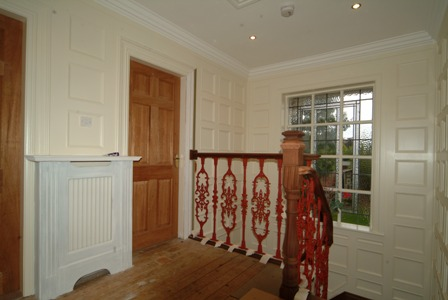 landing wall panelling entrance hall wall panelling lytham st annes made in the uk