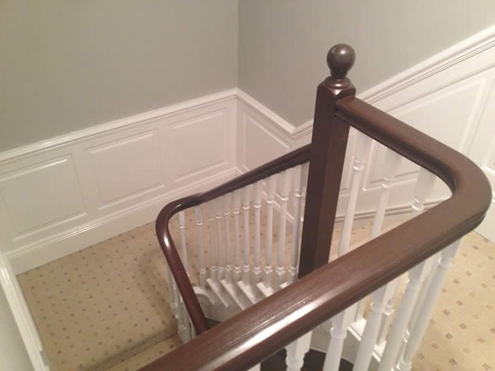 Staircase Wall Panelling Panelling For Staircases Uk
