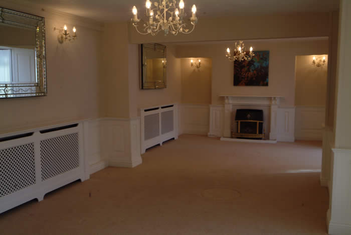 living room wall panelling by wall panelling south wales